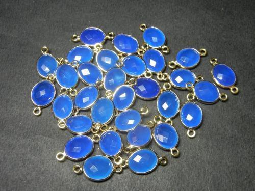 Chalcedony Gemstone Connectors 01