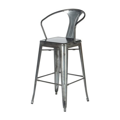 Metal Low Back Tolix Bar Stool