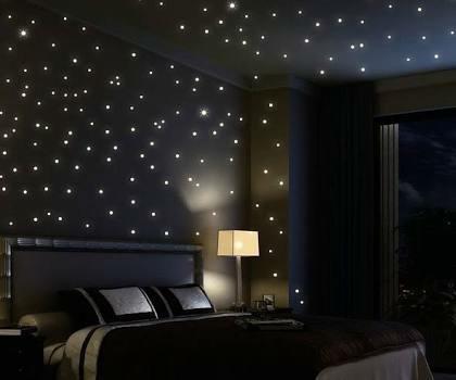 Living Room Fiber Optic Light