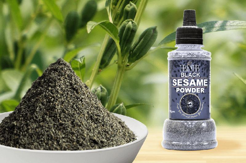 Black Sesame Seed Powder