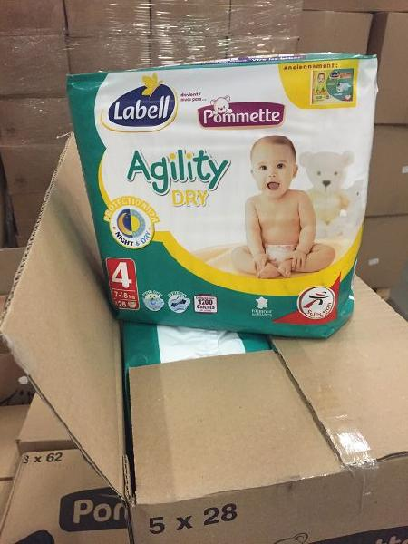 Pommette Agility Dry Baby Diapers 01