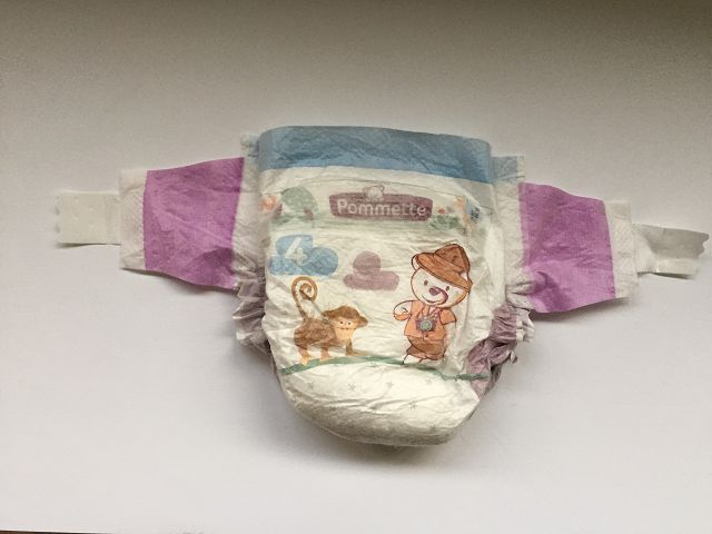 Pommette Changes Ultra Dry Baby Diapers 01