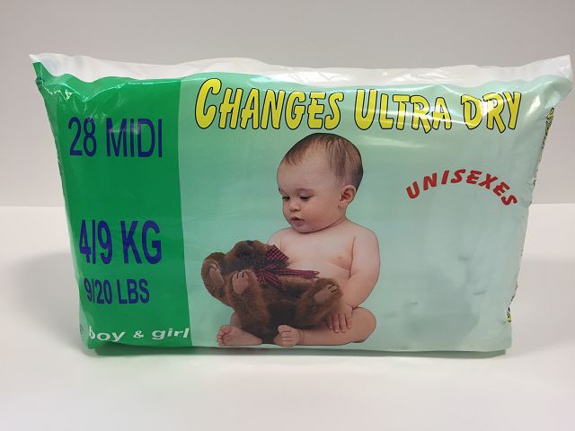 Pommette Changes Ultra Dry Baby Diapers 04