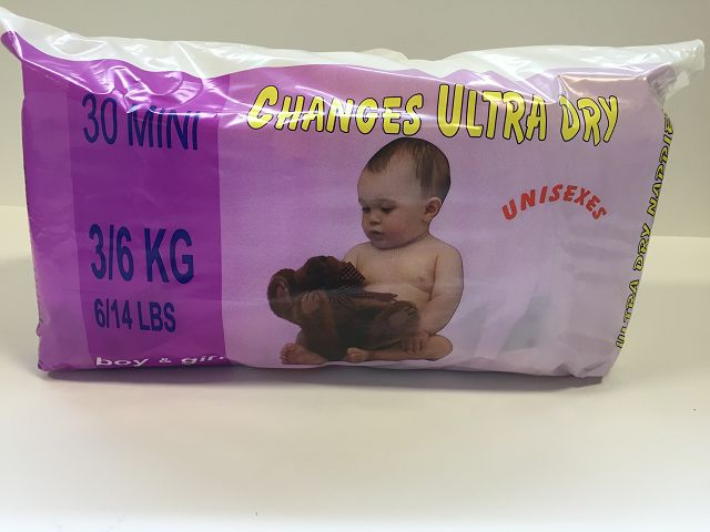 Pommette Changes Ultra Dry Baby Diapers 05