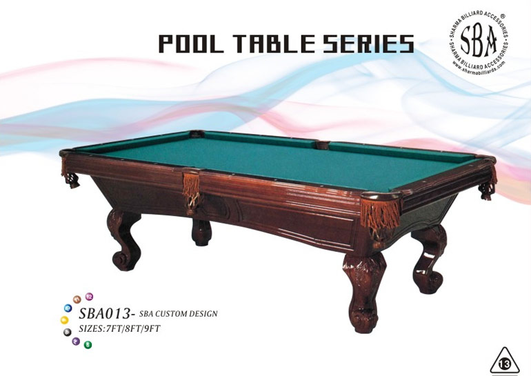 Pool Tables Customized
