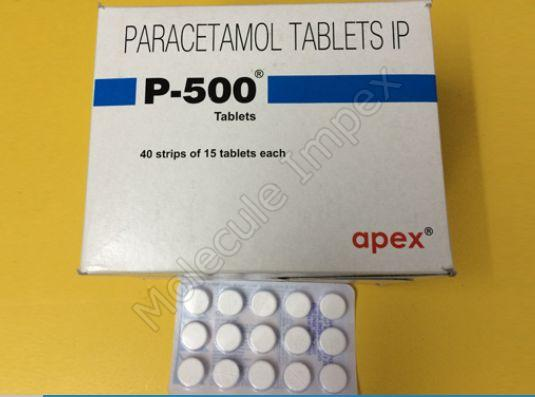 P - 500 Tablets