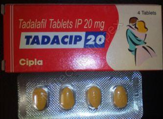 Tadacip 20 Tablets