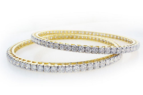 Diamond Bangles 02