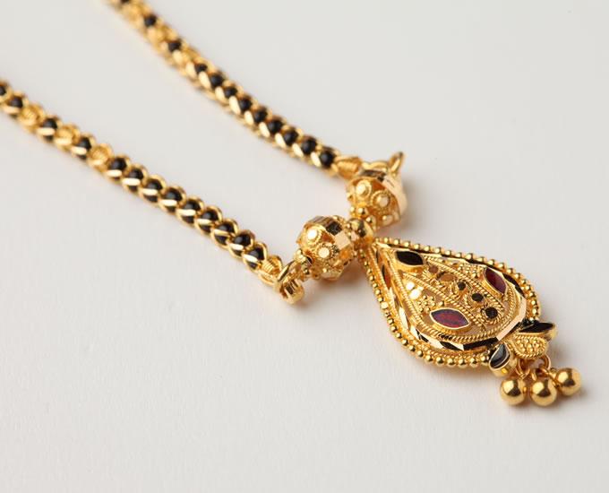 Gold Mangalsutra 02
