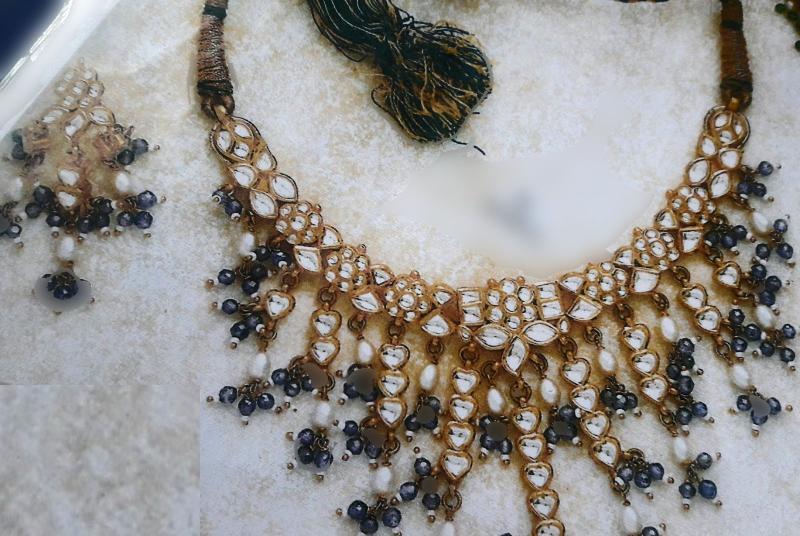 Kundan Necklace Set 01