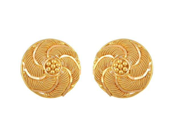 Gold Earrings 03