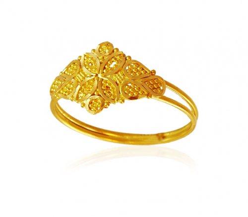 Ladies Gold Ring 01
