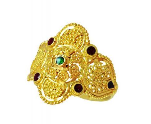 Ladies Gold Ring 03