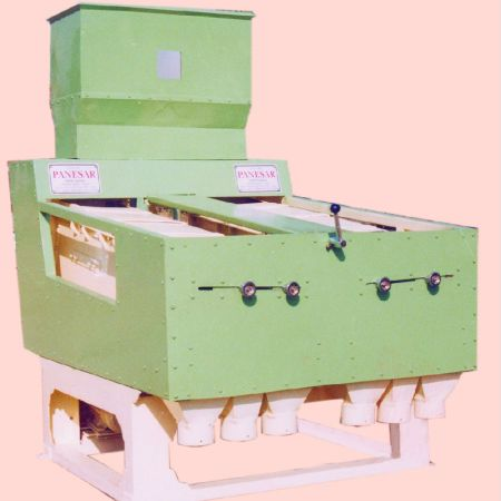 Oscillating Tray Type Paddy Rice Separator