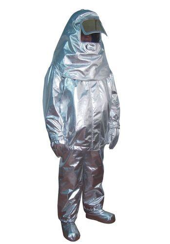 Aluminised Fire Fighting Suits