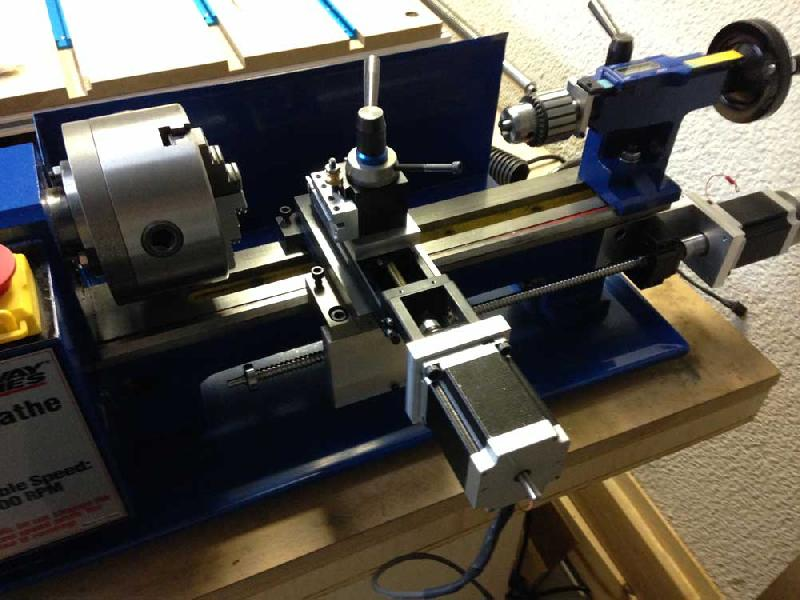 CNC Lathe Machine Retrofitting 01