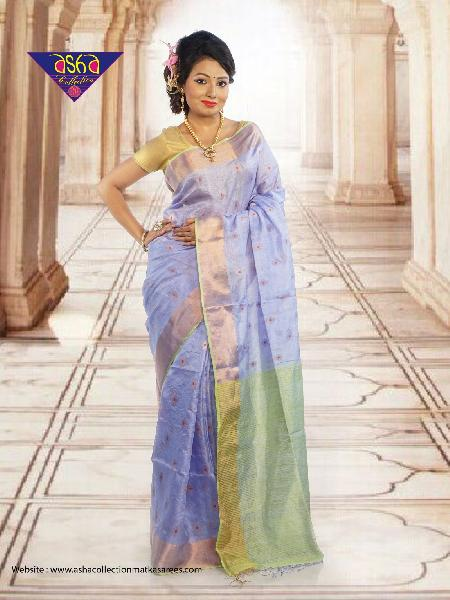 Tussar Silk Saree 02