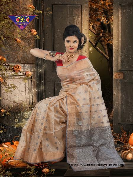 Tussar Silk Saree 04