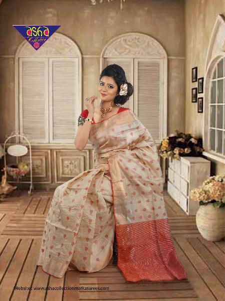 Tussar Silk Saree 05