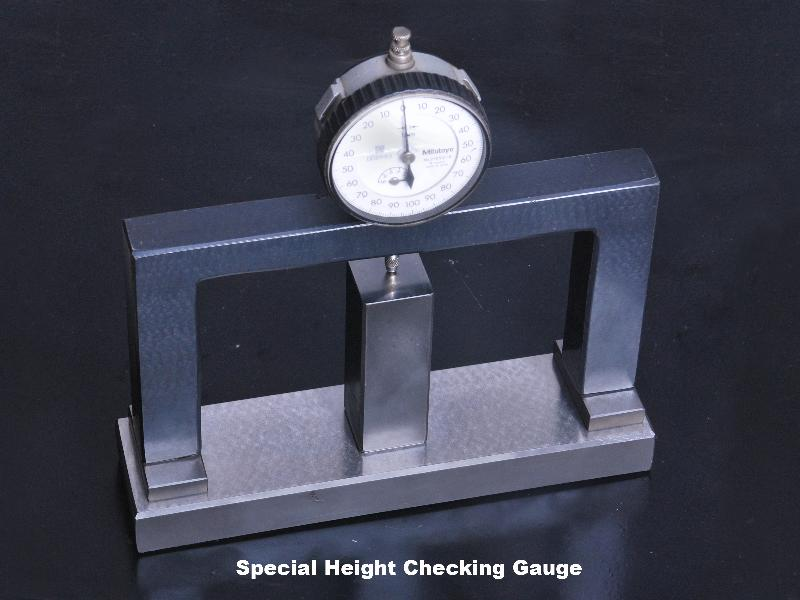 Special Height Checking Gauges