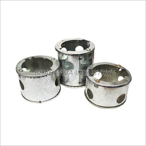 Galvanized Round Concealed Box
