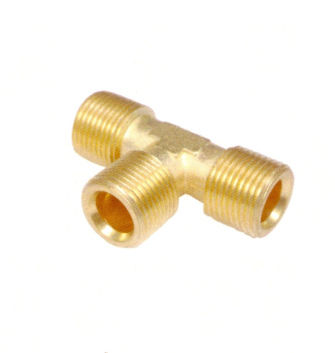 Brass Tee Connector