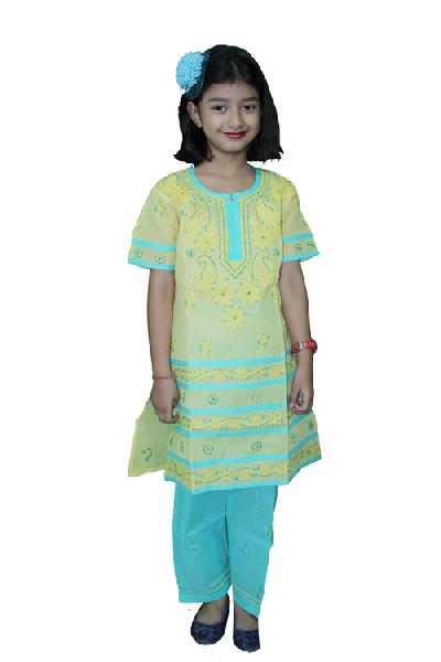 Girls Lucknowi Salwar Suits