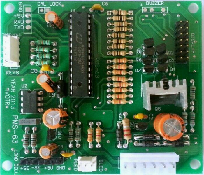 Electronic Weighing Scale PCB 03