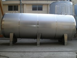 Horizontal Storage Tank 03