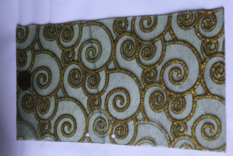 Golden Jalebi Surface Mate Fiber Sheets