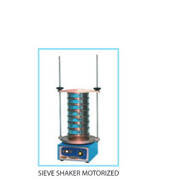 Motorized Sieve Shaker