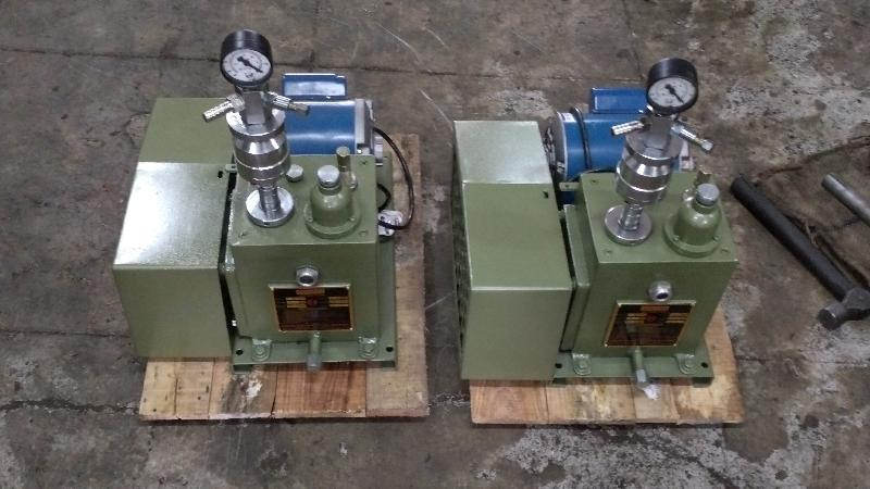 Oil Sealed Rotary High Vacuum Pump 03