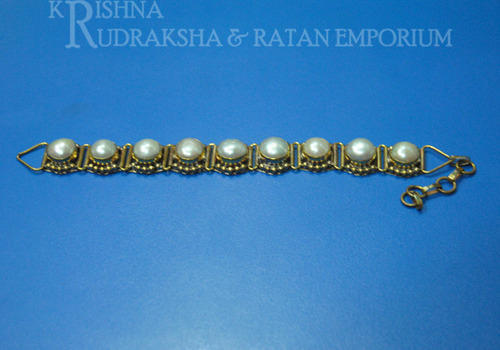 Ashtadhatu Pearl Bracelets