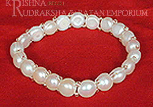 Single Line Pearl Bracelets