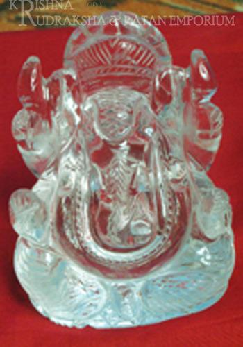 Sphatik Ganesh Ji Statue