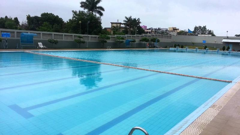 Outdoor swimming pool construction in delhi india - Swimming pool construction in india ...