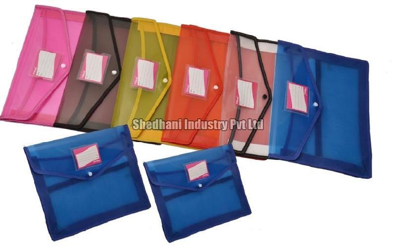 F-4021 Button File Bag Without Net