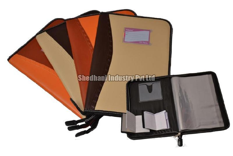 Magnetic File Folder With Piping