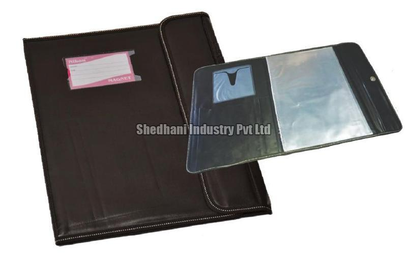 Magnetic File Folder Without Piping