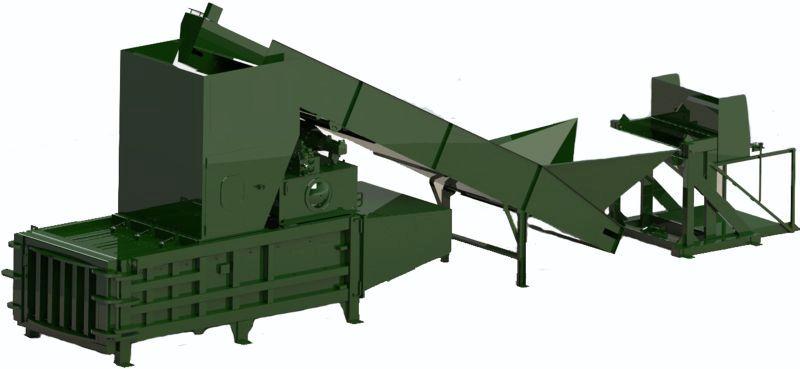 Horizontal Baling Machine