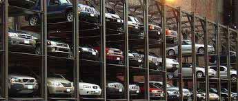 Multi Level Parking Construction