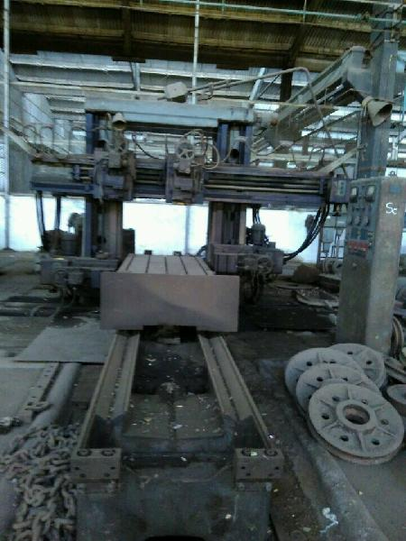 Plano Milling Machine 3000mm x 1200mm - TOS make