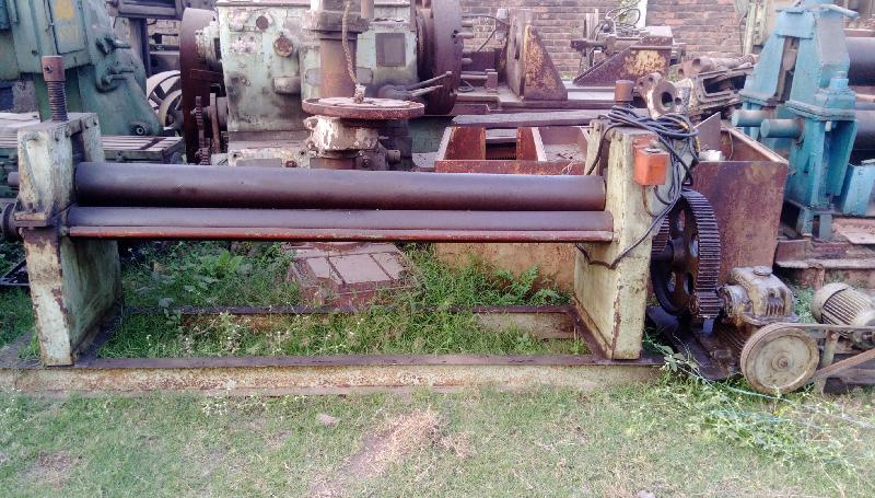 Plate Bending Machine - 1800mm x 12mm (Indian Make)