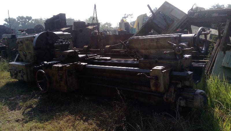 Used All Geared Roll Turning Lathe Machine - 2800mm admit (Russian Make)
