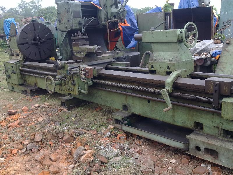 Used All Geared Lathe Machine - 4000mm admit (BECO Make)