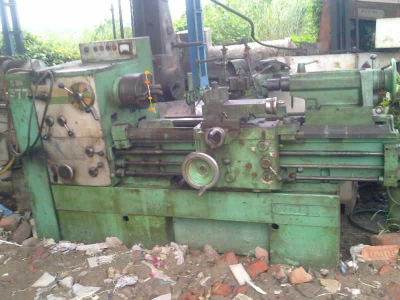 Used All Geared Lathe Machine - 8' length (HMT NH22)