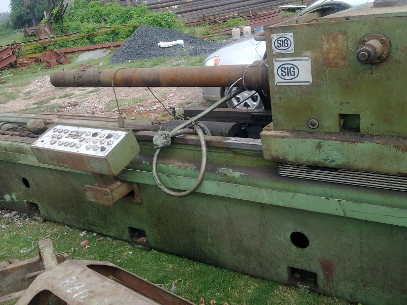 Used Deep Hole Drilling Machine