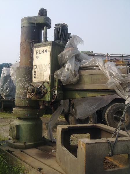 Used Radial Drilling Machine (ELHA VR80)