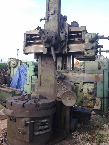 Used Vertical Turret Lathe Machine (1050 mm)