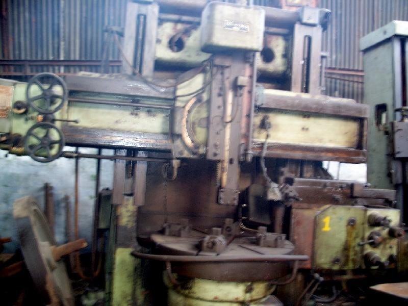 sed Vertical Turret Lathe Machine (1250 mm)